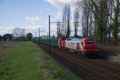 4020 VFLI + BB 61765 CV train 64099 SPDC-St Gaudens (Sebastien Bagat) Tags: train diesel fret sncf vfli bb61000 4000