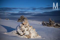 Matthieu Vitre-MtVentoux-2 (photomontagne) Tags: landscape hiver neige coucherdesoleil vaucluse ventoux montventoux