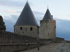 2010 09 08 Francia - Linguadoca Rossiglione - Carcassonne_0796 (Kapo Konga) Tags: mura francia carcassonne ferie languedocroussillon citta cittamedievale