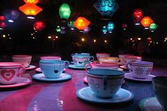 Teacups In The Rain (atsolo) Tags: rain alice disneyland disney anaheim wonderland dlr madhatter fantasyland aliceinwonderland