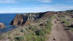 Our hiking trail at Santa Cruz