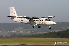 G-BIHO de Havilland DHC6 310 Twin Otter (Gary J Morris) Tags: de twin otter 310 islesofscilly brs bristolairport skybus lulsgate havilland dhc6 eggd gbiho