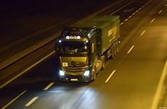 Mercedes Actros MPIV - Inglot Kotulin (Michael Sojka) Tags: mercedes a4 mp4 noc rano autostrada sgl actros wywrotka poniedziaek olszowa mpiv