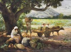 Amorsolo: Under the Mango Tree (Leo Cloma) Tags: religious gallery furniture auction philippines images ephemera leon auctions makati autographs manuscripts cloma
