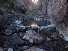 (adamhaydock) Tags: lasvegas canyon hotspring canyoneering