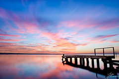 Scout's Jetty | Beaumaris (Jake Richardson Photography) Tags: pink red sky cloud abandoned water beautiful sunrise nikon long exposure jetty awesome australia melbourne victoria le scouts beaumaris d610