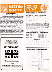 Manchester United vs Norwich City - 1976 - Page 17 (The Sky Strikers) Tags: old city red manchester one football official united devils norwich division trafford league programme