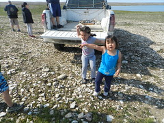 Going swimming at Long Point August 2015 02 (cambridgebayweather) Tags: swimming nunavut cambridgebay arcticocean