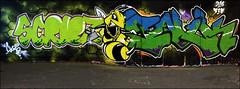 Scribz / Inuk (Alex Ellison) Tags: urban graffiti boobs halloffame graff inuk hof thetunnel team17 t17 leakestreet scribz