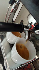 """#HummerCatering #Messe #Augsburg #Siebträger #Kaffeemaschine #Kaffeebar #Barista #Kaffee #Catering http://goo.gl/xajD4e • <a style=""""font-size:0.8em;"""" href=""""http://www.flickr.com/photos/69233503@N08/25274100554/"""" target=""""_blank"""">View on Flickr</a>"""