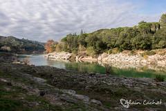 Vers-Pont-du-Gard #2 (Alain Cachat) Tags: france river landscape nikon rivire nikkor paysage pontdugard gard languedocroussillon 1635 gardon d610 verspontdugard