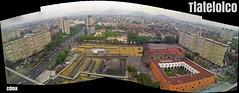 TLatelolco (Carlows) Tags: city color mxico mexico df ciudad tlatelolco plazadelas3culturas chilangolandia cdmx