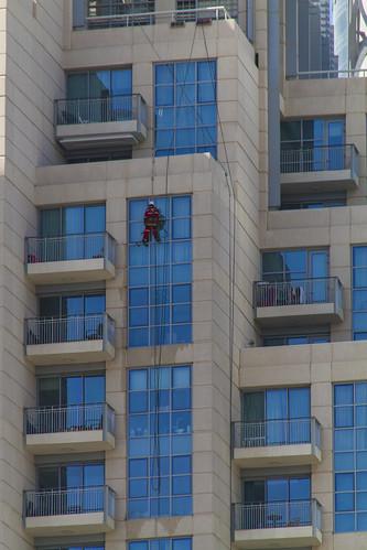 Fenster putzen in Dubai