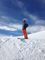Champion de la peuf ! (Jauss) Tags: ski alps alpes sterreich neige alpen tyrol autriche gaspard kitzbhel