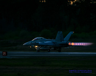 AFTERBURNERS LIT FOR SOME SUNSET FCLP