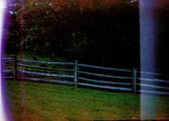 Hanimex 35se, Kodak 200 (K e v i n) Tags: film analog 35mm kentucky ky scan firstroll woodfence 1stroll kodak200 paintsvillelakestatepark hanimex35se epsonv500