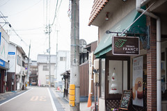 Patisserie France : Tsuyama (Nazra Zahri) Tags: food cake japan shop pancakes dessert 50mm restaurant spring cafe nikon raw hotcakes thick okayama tsuyama 2016 50mmf14d d700