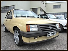 Opel Corsa A (v8dub) Tags: auto old classic car schweiz switzerland automobile suisse automotive voiture german oldtimer oldcar collector opel corsa youngtimer wagen pkw klassik a worldcars