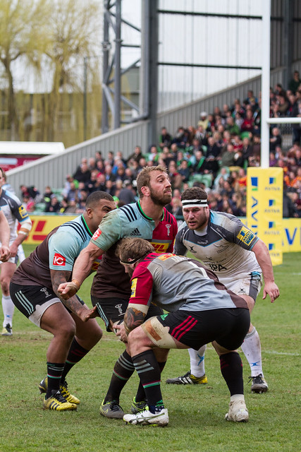 Quins 46 Newcastle 25 Aviva Premership 2nd April 2016