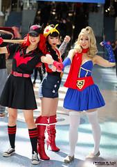 IMG_2469 (willdleeesq) Tags: cosplay wonderwoman supergirl cosplayer dccomics cosplayers wondercon batwoman wcla wonderconlosangeles wondercon2016 wc2016 wonderconla wcla2016