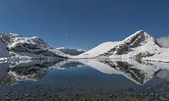 Nieve en los lagos (Urugallu) Tags: luz canon lago agua flickr nieve asturias cielo panoramica enol rodriguez reflejos picosdeeuropa asturies covadonga lagosdecovadonga onis iful 70d joserodriguez urugallu