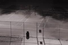 love (loganpemberton) Tags: blackandwhite bw sports sport fence court outdoors gate outdoor tennis tenniscourt
