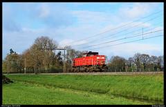 DBC 6414 te Deurningen (Allard Bezoen) Tags: train de diesel zug loco db cargo locomotive loc bahn mak trein dbs deutsche lok 6400 deurningen dbc diesellok locomotief 6500 dloc 6414 dieselloc dlok lokomotieve sleepkoppeling