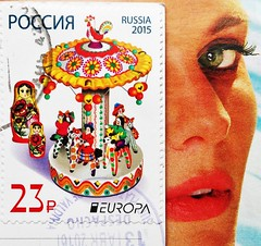 Stamps - Russia (RiveraNotario) Tags: stamps philately sellos filatelia estampillas марка росси́я почтоваямарка филателия