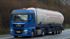 D - Cramer MuhlenWerke MAN TGX 18.440 XLX E6 (BonsaiTruck) Tags: man truck silo lorry camion trucks cramer bulk lastwagen lorries lkw spitzer mhlenwerke citerne lastzug tgx silozug powdertank