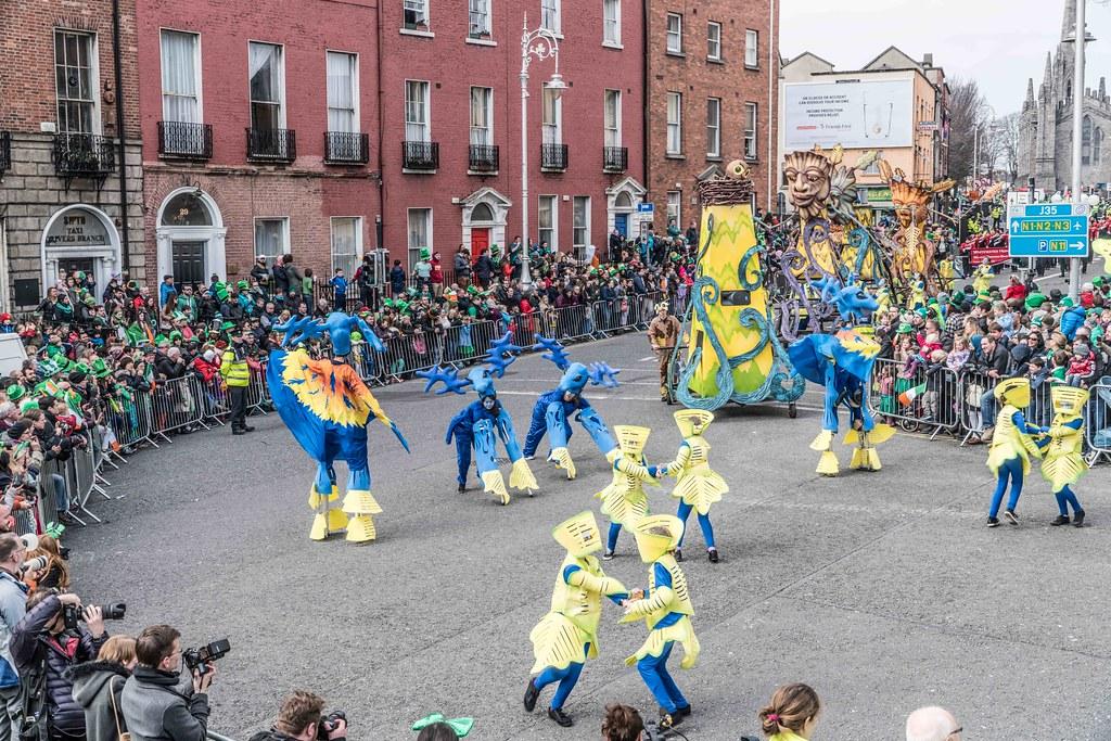 Dowtcha Puppet's At The St.Patrick's Parade [Dublin 2016]-112504