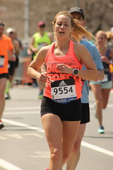 Runner (historygradguy (jobhunting)) Tags: people woman sports sport boston ma person marathon candid massachusetts newengland running run runners athletes mass athlete runner brookline coolidgecorner bostonmarathon marathoner marathoners 2016bostonmarathon