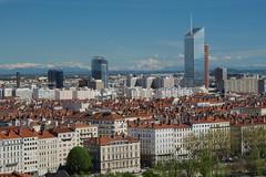 Lyon et les Alpes depuis la Croix-Rousse (greengiantpenguin) Tags: alpes lyon radisson crayon incity oxygne