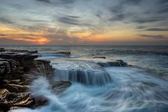 Ocean Flow at Sunrise - Mahon Pool Maroubra (jeffzimbler) Tags: sunrise waves maroubra mahonpool oceanflow