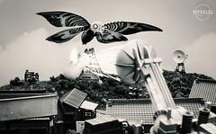 Mothra Resurrection (MyKaijuGodzilla.com) Tags: godzilla mothra   revoltech godzilla1964