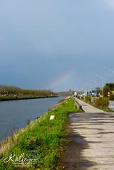 Deinze_Regenboog (Astrid Callens) Tags: regenboog rainbow brug vaart kromme deinze kolibreeze astridcallens bananenbrug