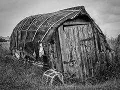 Fisherman's store on Lindisfarne (kenemm99) Tags: summer canon landscape shed places hut toning selenium kenmcgrath 5dmk3