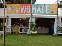WOMade (mikecogh) Tags: sign crafts stall hackney pun playonwords womadelaide botanicpark womad2016