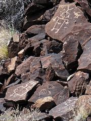 guys (rovingmagpie) Tags: newmexico petroglyph rockart petroglyphs labajada sb2016