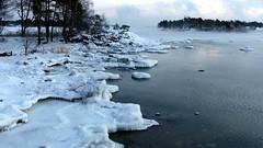 Sea smoke before sunrise at -22°C (Kallahti, Helsinki, 20160106) (RainoL) Tags: 2016 201601 20160106 cold dawn drottningen fin finland frostsmoke geo:lat=6018344377 geo:lon=2515360853 geotagged helsingfors helsinki january kallahdenniemi kallahti kallvik kallviksudden kuningatar merisavu nordsjö nyland seasmoke steamfog uusimaa winter vuosaari balticsea sea