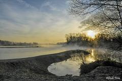 Magic morning (alfvet) Tags: morning colors sunrise river alba fiume natura sole atmosfere parcodelticino
