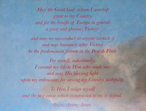 77 | Nelson's prayer – NMRN – Portsmouth