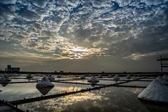 DSC07860 (A.Co) Tags: sunset field zeiss landscape sony salt taiwan  fields rays tainan    a7   beimen      jingzaijiao ilce7 sel2470z variotessartfe41635 tilepaved