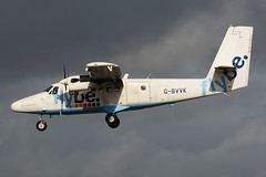 G-BVVK.GLA250316 (MarkP51) Tags: plane airplane scotland airport nikon image glasgow aircraft aviation airliner gla loganair twinotter flybe dhc6300 d7100 egpf gbvvk markp51