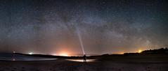 Milky Way over Margaree Harbour, Cape Breton... (margareerich) Tags: pano capebreton milkyway margaree