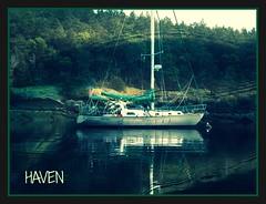 Haven at anchor (LarrynJill) Tags: haven water boat sailing anchor
