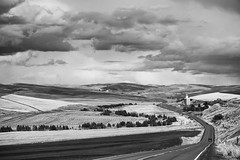Here's Looking at Juno (Dave Stromberger) Tags: road clouds stjohn hills washingtonstate palouse junowa