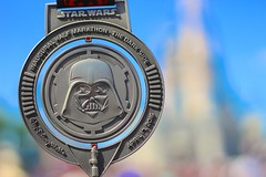 Star Wars Half Marathon (jordanhall81) Tags: world park street usa castle race dark star orlando florida bokeh marathon magic side main kingdom running run disney medal resort darth half theme wars vader bling wdw walt endurance mk espn inaugural 2016 wwos rundisney