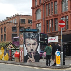 Stevenson Square Northern Quarter Manchester (Tanvir's Pics 2010) Tags: david square manchester graffiti bowie artwork stevenson
