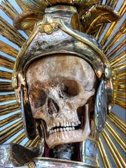 The Martyred (Christian Boss) Tags: church abbey skulls catholic saints surreal bones skeletons martyr martyrs heiliger katholisch reliquien schrein schatz heilige skelett knochen jewelled szene schdel katakomben reliquias gerippe einfarbig gruft leiber reliquiary relicarios geweiht reliquienschrein skelettons katakombenheilige katakombenheiliger reliquienschatz