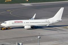 Air Berlin Boeing 737-86J D-ABBD (c/n 30880) Operated in an all-white scheme ahead of sale. (FNF_VIENNA - Vienna-Aviation.net) Tags: vienna wien berlin airport air boeing flughafen vie 737800 schwechat loww 738 b738 dreg dabbd